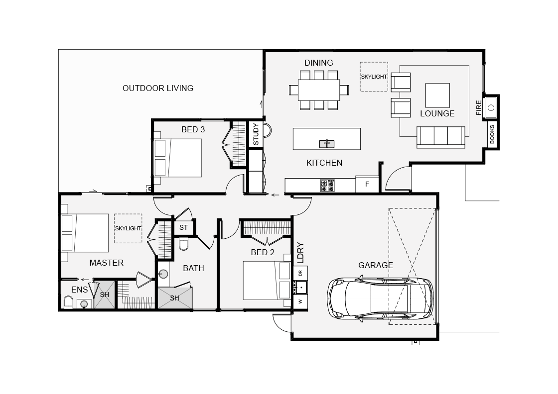 Waitaia cassa homes for Smaller smarter home plans